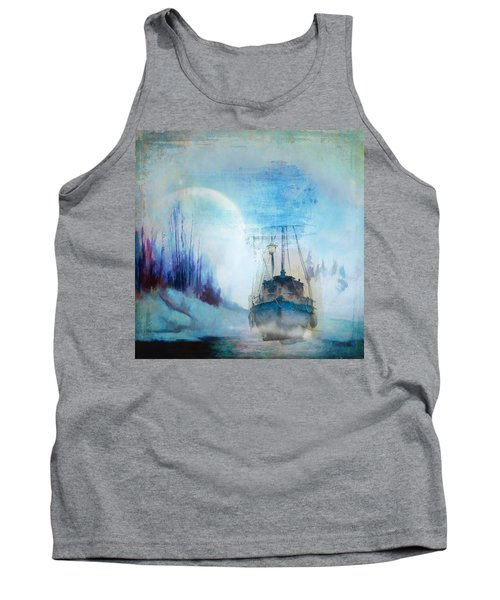 Ghost Ship Tank Top by Diana Boyd