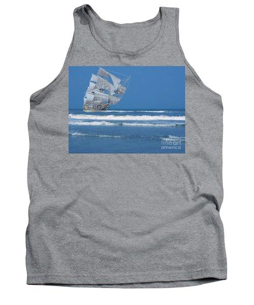 Ghost Ship On The Treasure Coast Tank Top