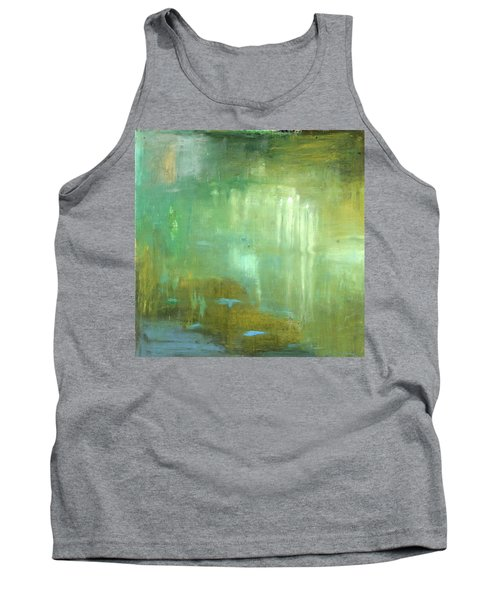 Tank Top featuring the painting Ghosts In The Water by Michal Mitak Mahgerefteh