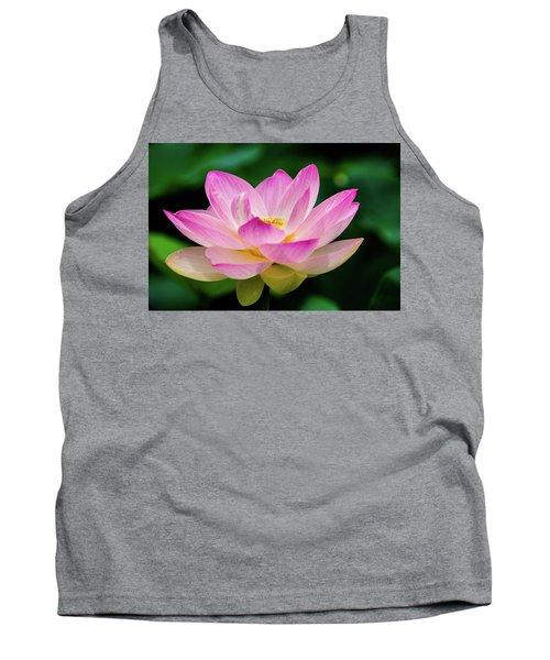 Gigantic Lotus Red Lily Tank Top