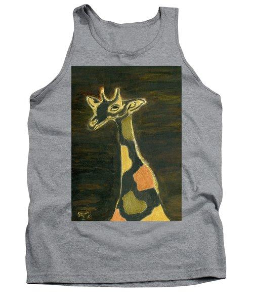 Giraffe Metallica Tank Top