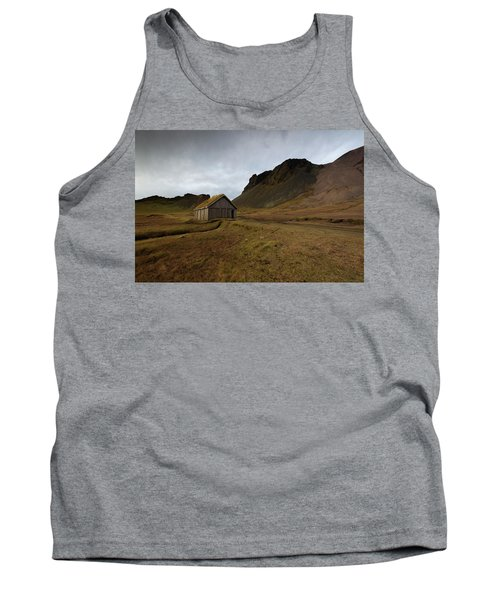 Tank Top featuring the photograph Give Me Shelter by Allen Biedrzycki