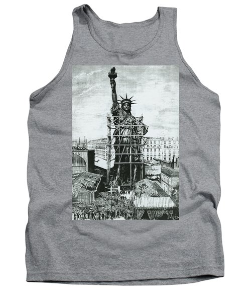 Giving The Statue Of Liberty To United States Ambassador Tank Top