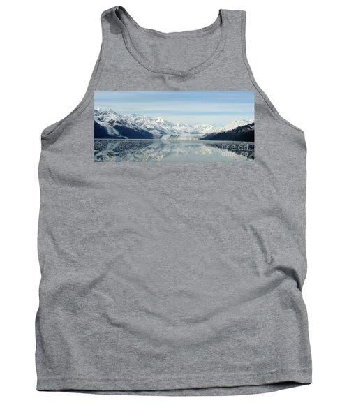 Glacier Bay Reflections Tank Top by Susan Lafleur