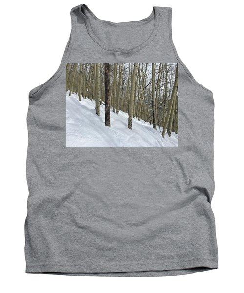Gladed Run Tank Top by Christin Brodie