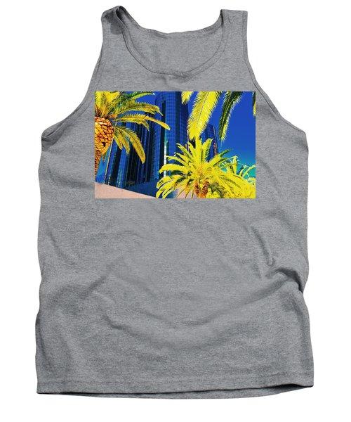 Glass And Palms Tank Top by Joe Burns