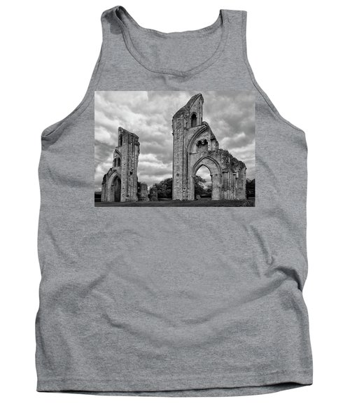 Tank Top featuring the photograph Glastonbury Abbey by Elvira Butler