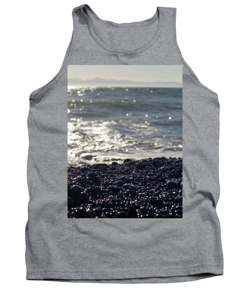 Glistening Rocks And The Ocean Tank Top