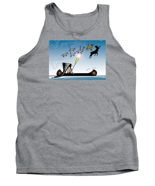 Glooscap Creates The West Isles Tank Top