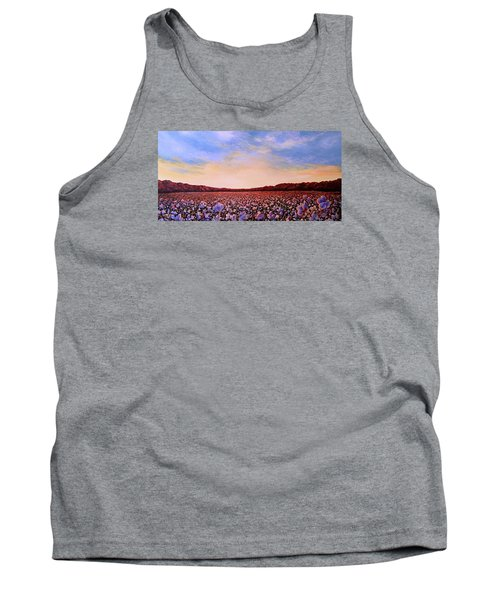 Glory Of Cotton Tank Top by Jeanette Jarmon