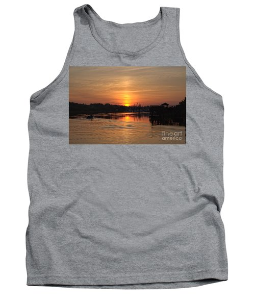 Glory Of The Morning On The Water Tank Top