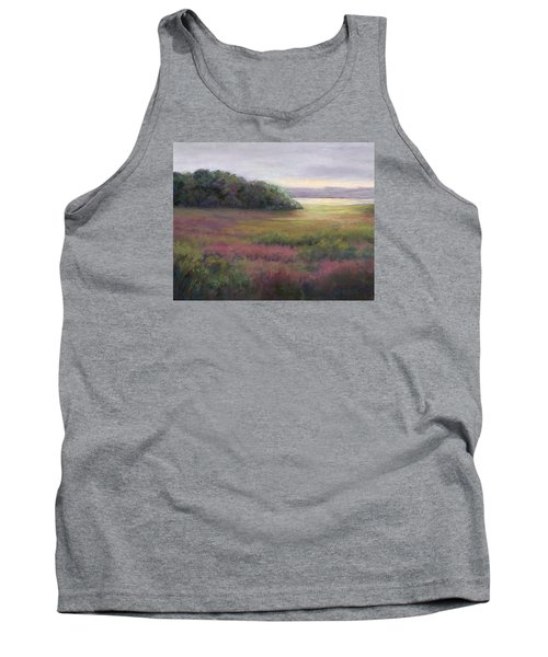 Tank Top featuring the painting Glow On Gilsland Farm by Vikki Bouffard