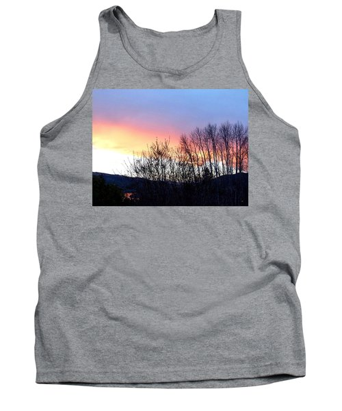 Tank Top featuring the photograph Glowing Kalamalka Lake by Will Borden