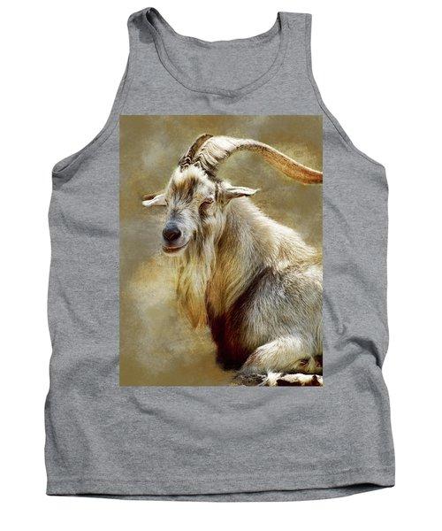 Goat Portrait Tank Top