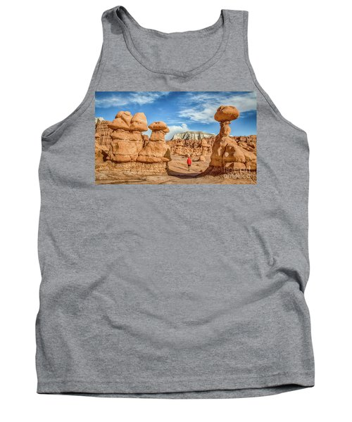 Goblin Valley State Park Tank Top by JR Photography