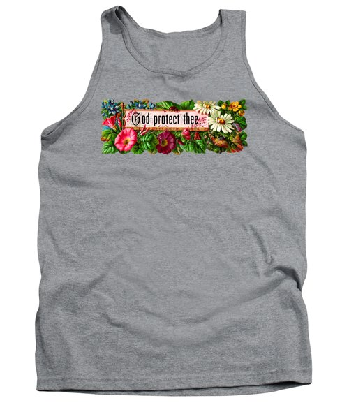 God Protect Thee Vintage Tank Top