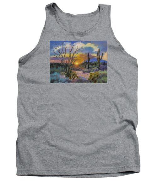 God's Day - Sonoran Desert Tank Top by Diane McClary