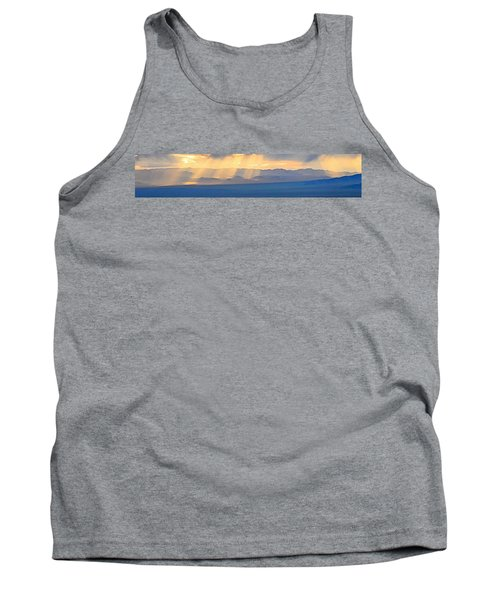 God's Rays Over The Great Basin  Tank Top