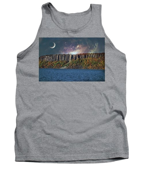 God's Space Over Planet Earth Tank Top