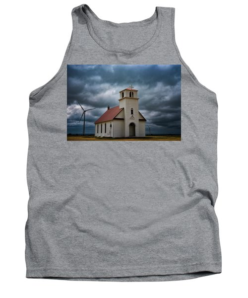 Tank Top featuring the photograph God's Storm by Darren White