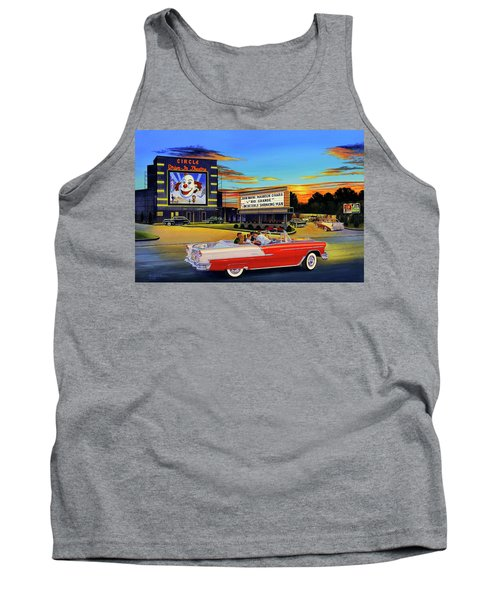 Goin' Steady - The Circle Drive-in Theatre Tank Top