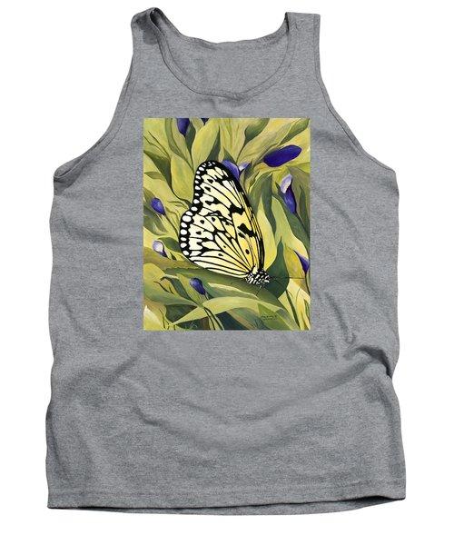 Gold Butterfly In Branson Tank Top