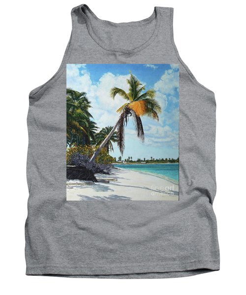 Gold Coconut Tank Top