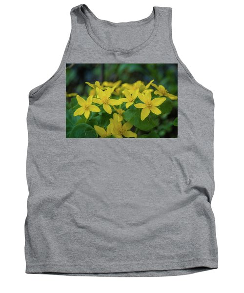 Tank Top featuring the photograph Gold In The Marsh by Bill Pevlor