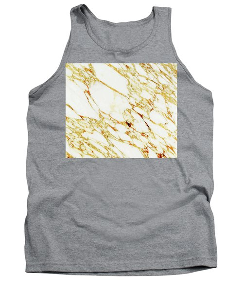 Gold Marble Tank Top
