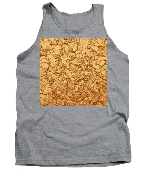 Gold Waves Tank Top