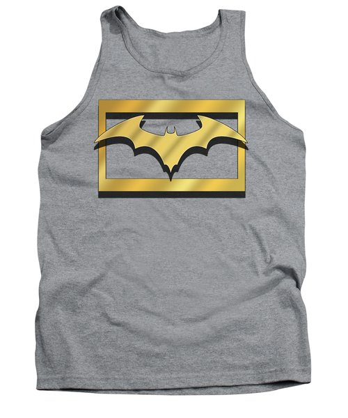 Golden Bat Tank Top by Chuck Staley
