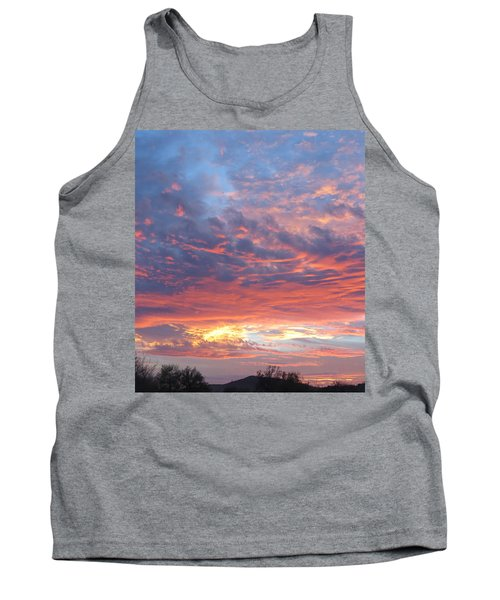 Golden Eye Landing In The Desert Tank Top