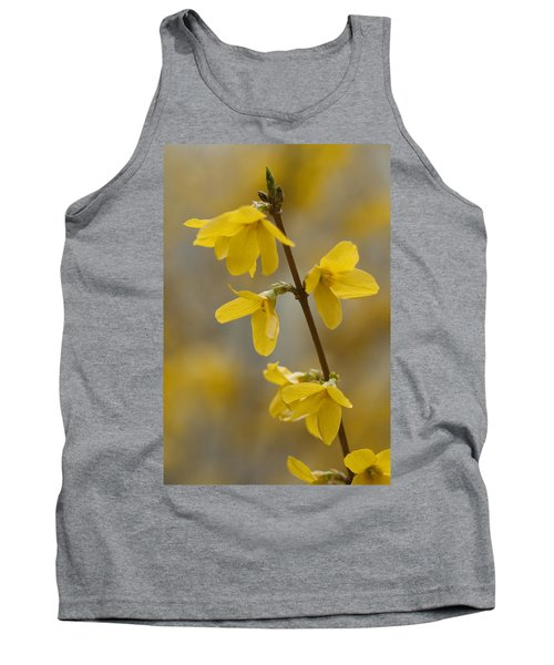 Golden Forsythia Tank Top
