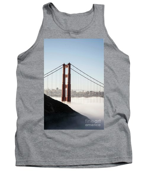 Tank Top featuring the photograph Golden Gate And Marin Highlands by David Bearden