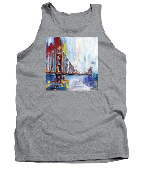 Golden Gate Bridge 218 1  Tank Top by Mawra Tahreem