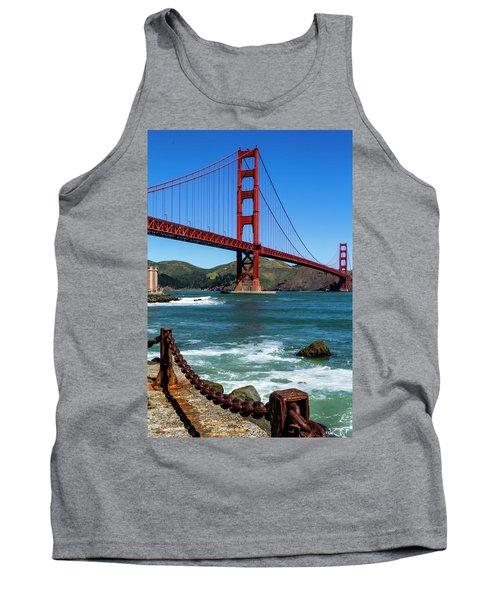 Golden Gate Bridge From Fort Point Tank Top