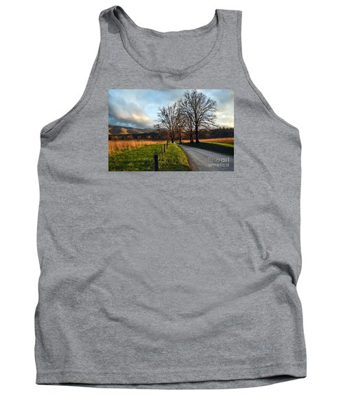 Golden Hour In The Cove Tank Top