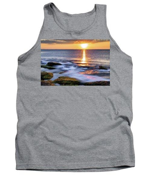Golden Light Sunset, Rockport  Ma. Tank Top