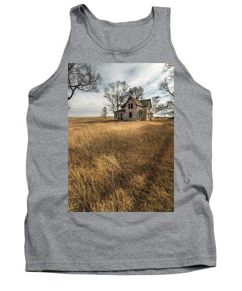 Tank Top featuring the photograph Golden Prairie  by Aaron J Groen