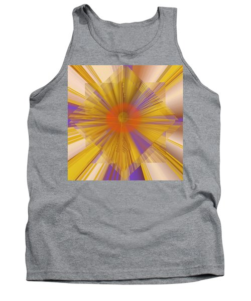 Golden Rays Tank Top