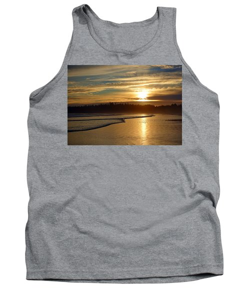 Long Beach, British Columbia Tank Top by Heather Vopni