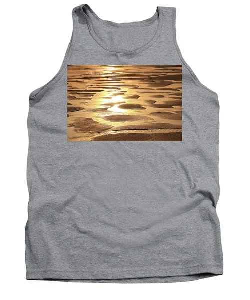 Tank Top featuring the photograph Golden Sands by Roupen  Baker