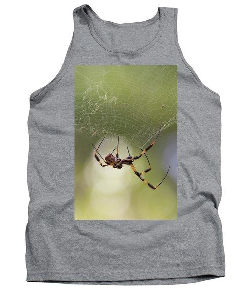 Golden-silk Spider Tank Top