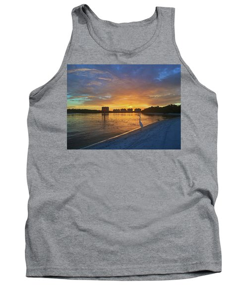 Golden Sunrise Tank Top