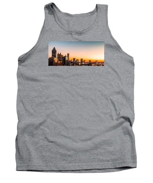 Golden Sunset Tank Top