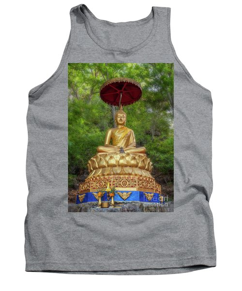 Golden Thai Buddha Tank Top