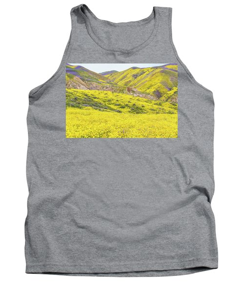 Goldfields And Temblor Hills Tank Top