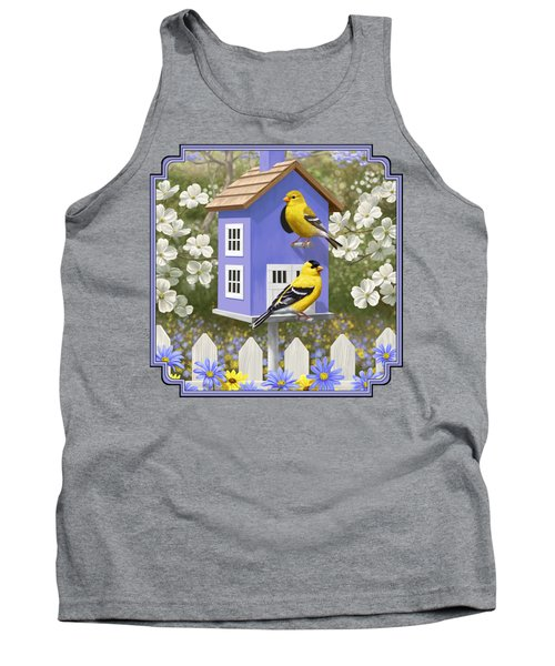 Goldfinch Garden Home Tank Top