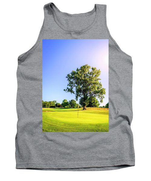 Tank Top featuring the photograph Golf Course by Alexey Stiop