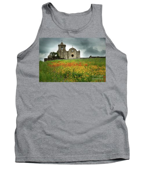 Goliad In Spring Tank Top by Jon Holiday